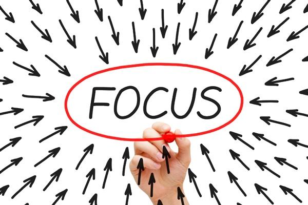 Focus zelfsturing
