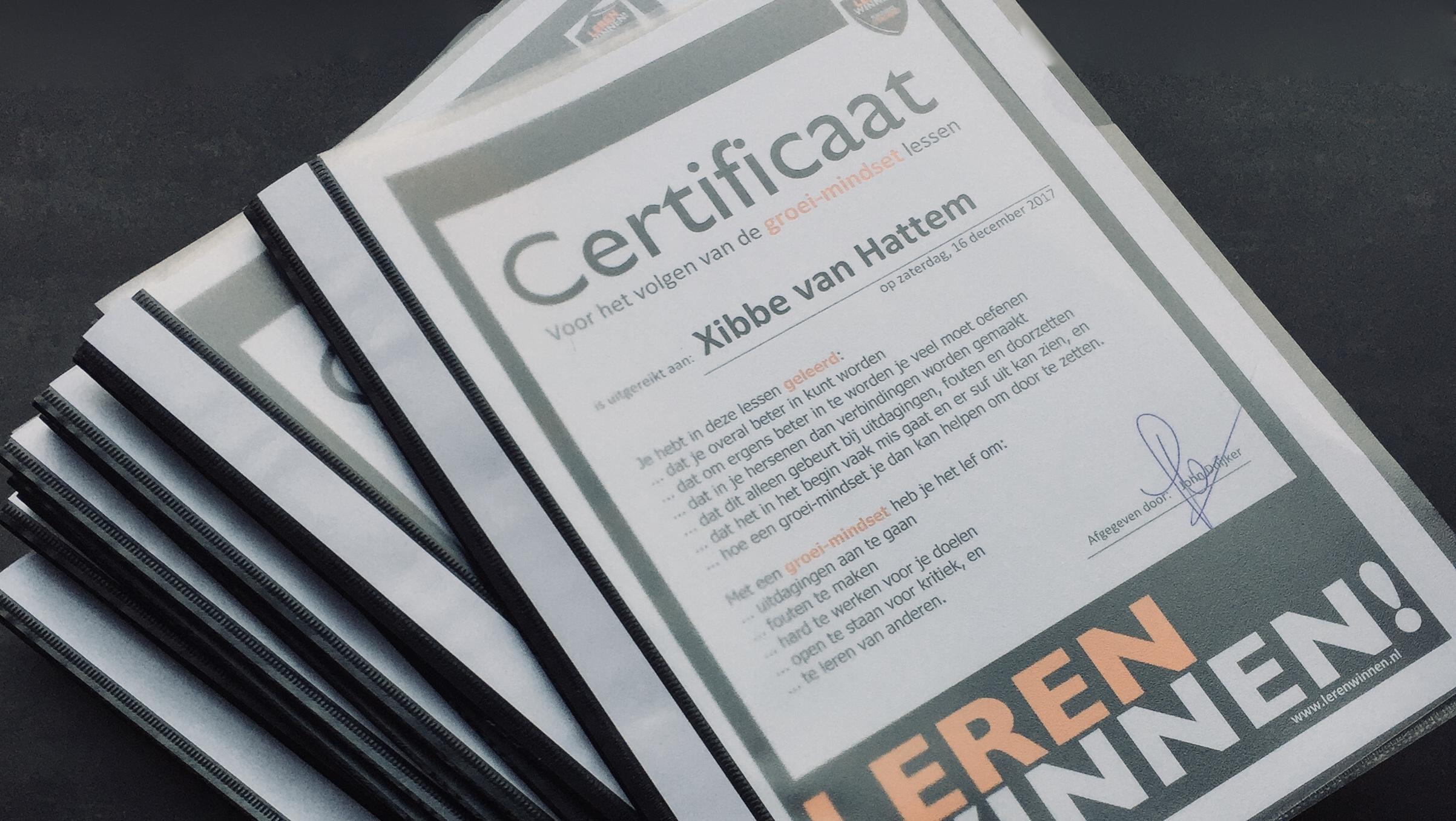 Certificaten SML