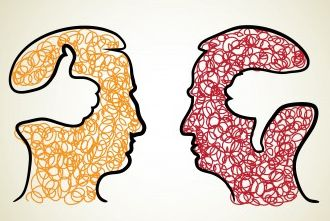 Negatieve en positieve gedachten