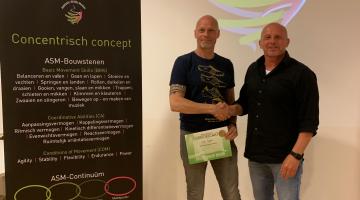 Diploma ASM met Rene Wormhout
