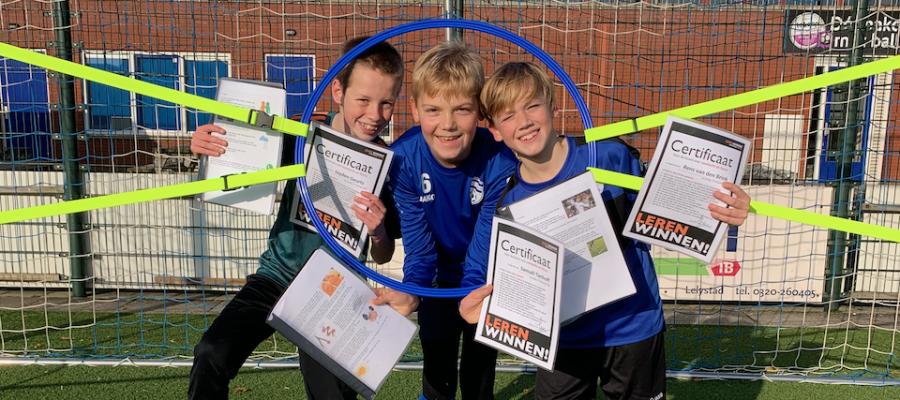 Afsluiting trainingen Aandacht en Focus bij Leren Winnen!